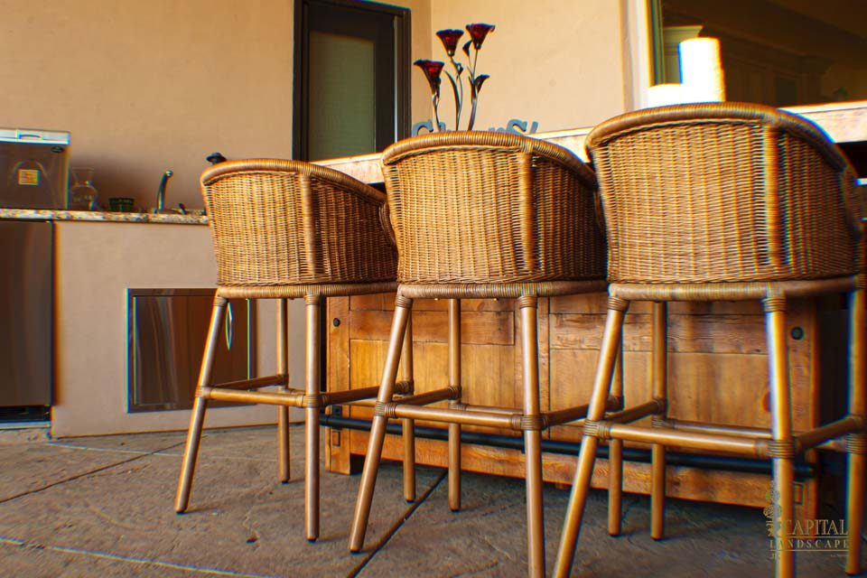 Outdoor Bar Stools Kitchen Sacramento Lincoln California