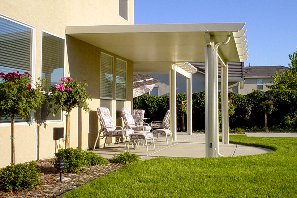 Roseville Solid Patio Cover Shade Structure Hardscape Capital Landscape Web