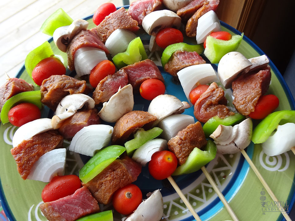 how to cook beef shish kabobs in the oven