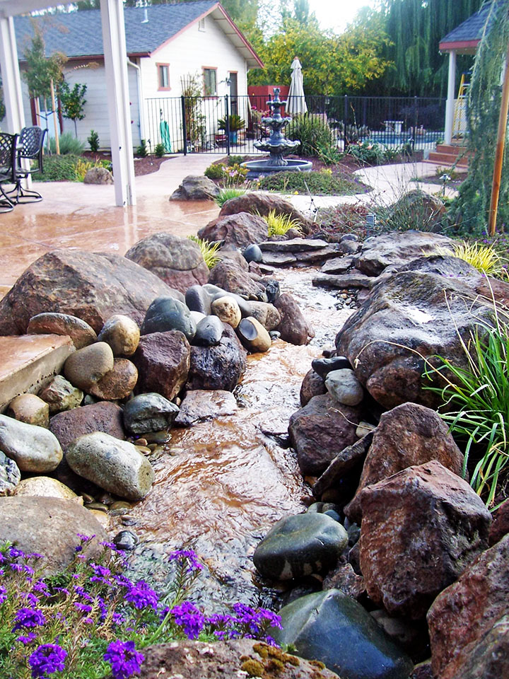 How to Pick a Landscape Designer - Sacramento Landscape on Backyard Rocks  id=91317