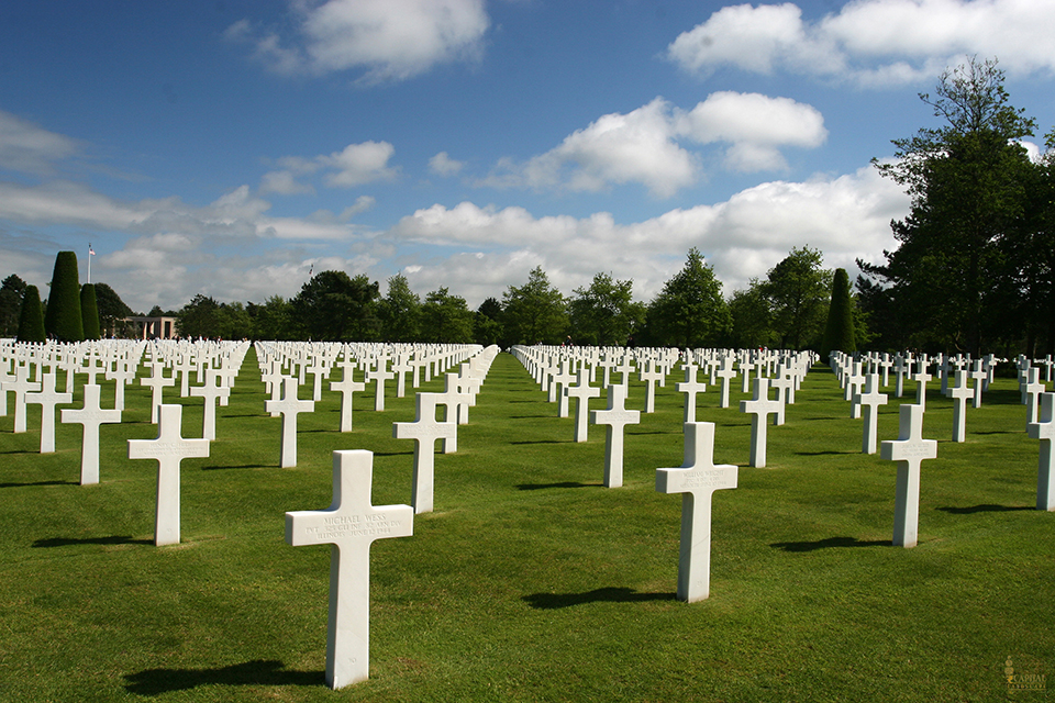 Normandy Grave Yard Memorial D Day