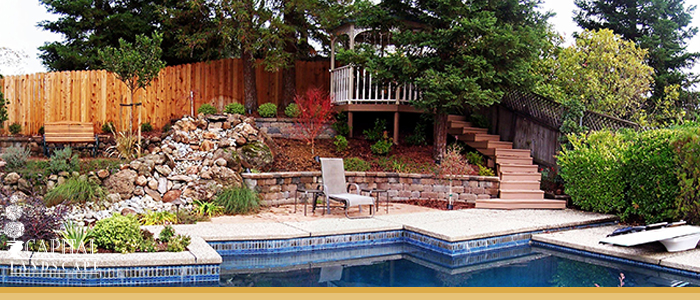Stamped concrete pool decks roseville stained concrete for Pool design roseville ca