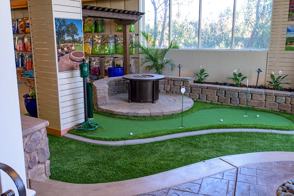 Landscape Design Showroom Roseville - Putting Green